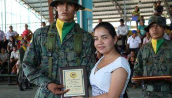 Ceremonia de Licenciamiento del B.S 55 Putumayo